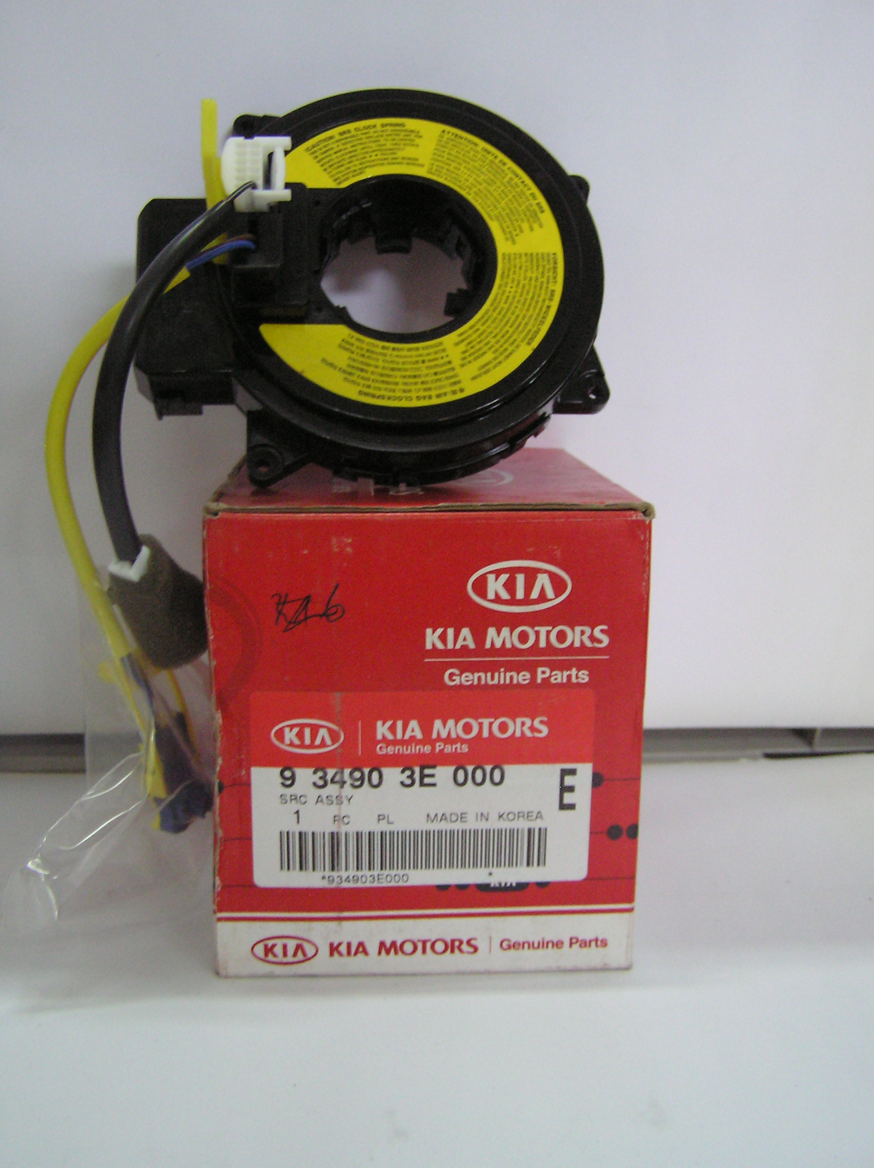 Steering Contact Coil Src Unit Kia Sorento 2 5crdi