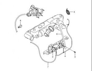 6655403497 Modulator Rexton D27T