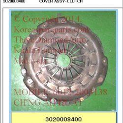 3020008400 Clutch Cover Rx290 Rx320 662LA M/T 4WD DMF