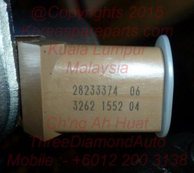 28233374 Inlet Metering Valve Hyundai Starex High Pressure Fuel Pump 331004A700