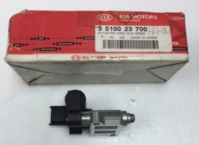 Hyundai Elantra 2.0 Tiburon 2.0 Kia Spectra5 2.0 Sportage 2.0 35150-23700 Idle Speed Control Valve 3515023700 Brand New Actuator Assy Idle Speed
