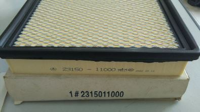 23150-11000 air filter ssangyong chairman s500