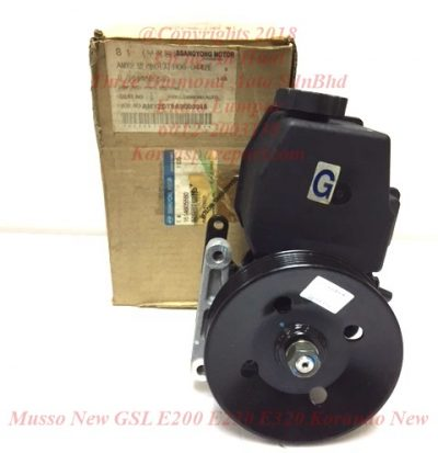 1614603480 1614604180 1614605580 Pump Assy Power Steering Musso New GSL E200 E230 E320 Korando New