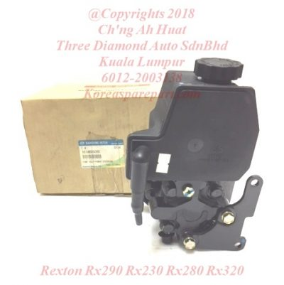 1614603680 1614605080 1614605780 Pump Assy Power Steering Rexton Rx290 Rx230 Rx280 Rx320