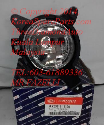 OK53B51510A Fog Lamp RH