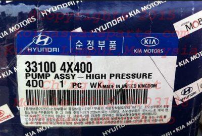 Hyundai Starex Fuel Pump Assy High Pressure 331004X400