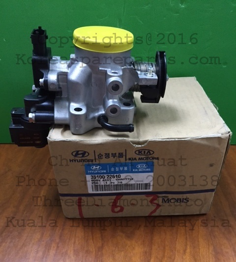 Compare Prices On Mitsubishi Pajero Throttle Body Online: 35100-22610 Throttle Body Assembly Hyundai Accent 1.6 Auto