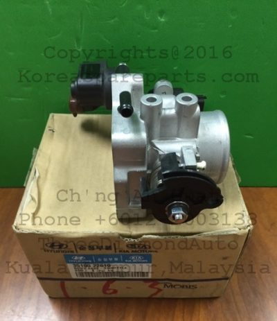 35100-22610 Throttle Body Assembly Hyundai Accent 1.6 Auto 3510022610 Genuine Parts