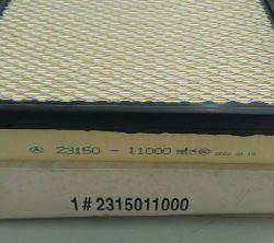 23150-11000 air filter ssangyong chairman s500