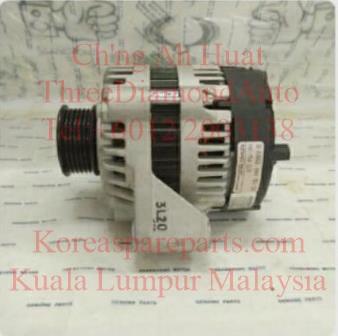 6621545502 6621545102 Alternator 14v75A 4Pin Oval Socket Musso DsL Korando Om661 OM662