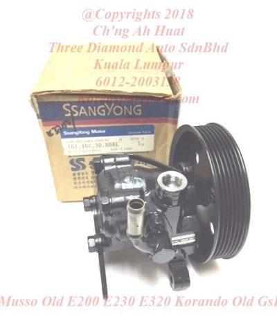 1614603080 Pump Power Steering Musso Old E200 E230 E320 Korando Old GSL