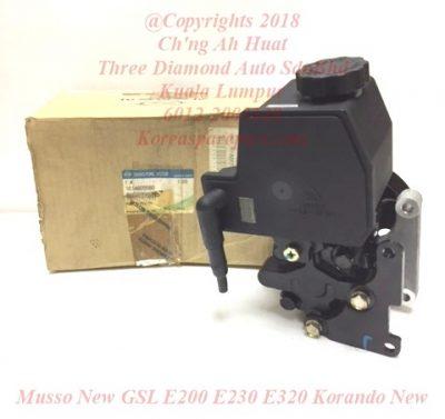 1614603480 1614604180 1614605580 Pump Assy Power Steering Musso New GSL E200 E230 E320 Korando New