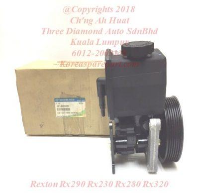 1614603680 1614605080 1614605780 Pump Assy Power Steering Rexton Rx290 Rx230 Rx280 Rx320